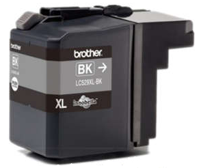 Tusz BROTHER LC529XL BLACK na 2400str. do DCP-J100 J105